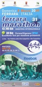 ferrara marathon 2009